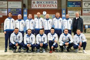 Bocce serie A, primo turno positivo per La Perosina Boulenciel contro Loano
