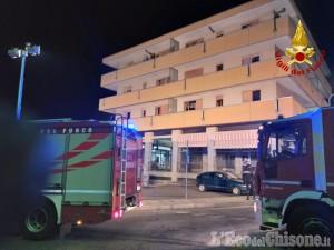 Incendio di Luserna S.G.: domani il rientro a casa dei condomini sfollati