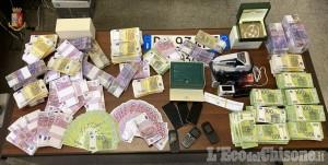 Arrestati tre nomadi a Piossasco e Trana: avevano acquistato orologi con 400mila euro di banconote false