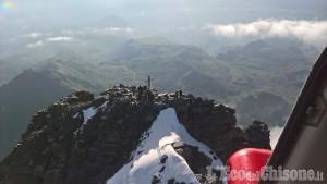 Crissolo: recuperati i due escursionisti bloccati dal maltempo sul Monviso