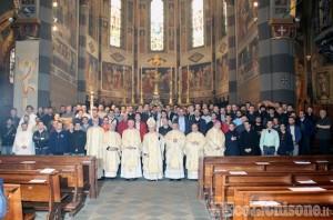 A Pinerolo 137 giovani seminaristi del Piemonte e della Valle d'Aosta