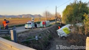 Pinerolo: scontro tra furgoni, nessun ferito
