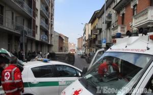 Nichelino: scontro tra Lancia Musa e autocarro