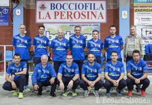 Bocce Coppa Europa, big match tra La Perosina e Brb Ivrea