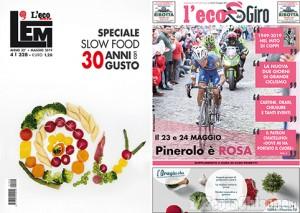 """Domani """"L'Eco"""" in edicola con """"L'EM"""" e il tabloid speciale sul Giro d'Italia"""