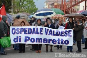 Due giorni di manifestazioni in difesa dell'Ospedale di Pomaretto