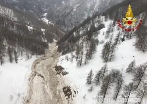 Slavina di Massello: ordinanza per chiudere sentieri per Occie e provinciale dopo Roberso