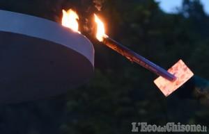 Pinasca: la fiaccola delle MiniOlimpiadi illumina le Valli Chisone e Germanasca