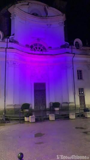 A Villafranca, Monastero in viola per la lotta contro il tumore al pancreas