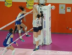 Volley serie A 2 femminile, grande Pinerolo: battuta 3-2 la prima della classe Mondovì nel derby