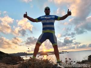In lockdown fu bloccato due mesi in Molise e multato: il ciclista giramondo di Usseaux è ripartito