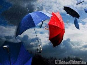 Prima la pioggia, poi torna il vento!