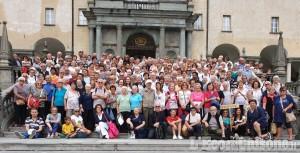 Pelegrinaggio della diocesi di Pinerolo a Oropa