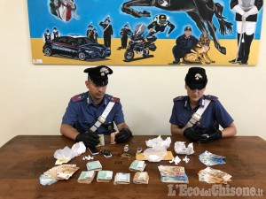 Pinerolo: spacciava cocaina in via Rodi, arrestato 46enne