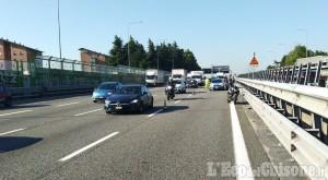 Frossasco: ferito motociclista 19enne dopo la caduta sulla tangenziale nord