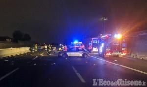 Orbassano: schianto tra auto sulla tangenziale sud, tre i feriti al Sito Interporto