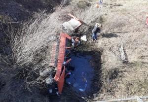 Villar Pellice: sfonda il parapetto del ponte delle Rovine e piomba giù con l'auto, ferito anziano