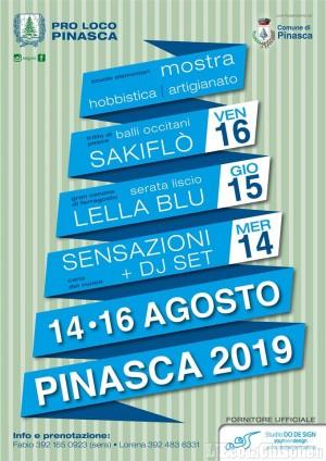 L'estate di Pinasca raddoppia con le feste patronali dal 14 al 16 agosto