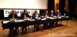 """Piossasco: tutto esaurito al Mulino per il """"faccia a faccia"""" tra i candidati sindaci"""