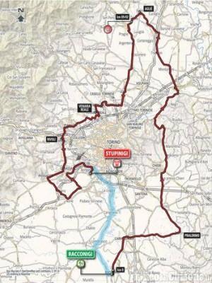 Gran Piemonte di ciclismo professionisti, arrivo a Stupinigi: appello ai velocisti
