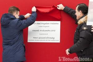 Pragelato: Giscard d'Estaing inaugura il Club Med