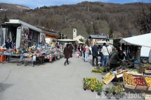 Pragelato: ilmercato resta in Piazza Lantelme