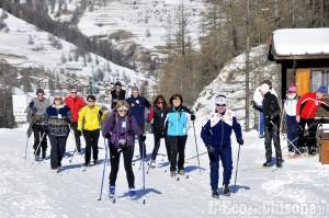 Pragelato: con la neve sono arrivati gli appassionati del fondo