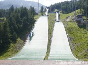 Trampolini olimpici di Pragelato: domenica 7 apertura anticipata