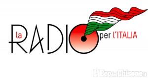 """Questa mattina, alle 11, """"La radio per l'Italia"""""""