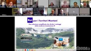 Miglioramento del segnale tv in montagna: accordo tra Rai e Uncem