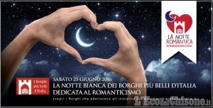 Usseaux: Borghi al vino e Notte romantica, con il bacio di mezzanotte