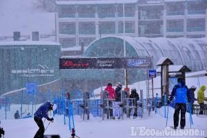Vialattea: 80 centimetri di neve fresca in 24 ore sul comprensorio sciistico
