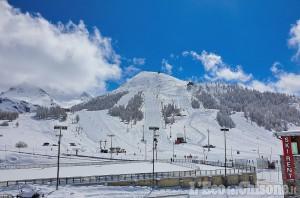 Montagne olimpiche: la nevicata di fine stagione