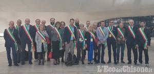 Sindaci del Pinerolese a Roma con Poste Italiane