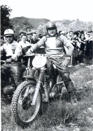 Pinerolo: è mancato Enzo Soletti, campione di motocross negli Anni '50