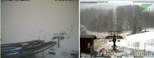 Neve in quota, weekend con gli sci