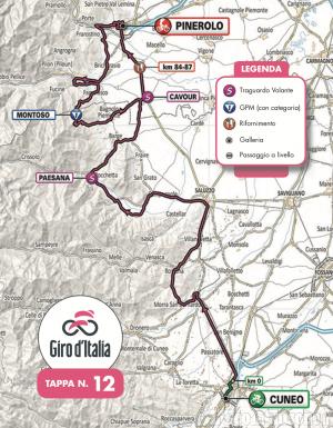 Aspettando il Giro d'Italia: la viabilità a Bagnolo Piemonte e Bibiana