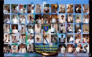 Video Flash Mob: concerto live dei Congedati della Fanfara della Brigata Alpina Taurinense