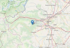 A Coazze un terremoto di magnitudo 2.7