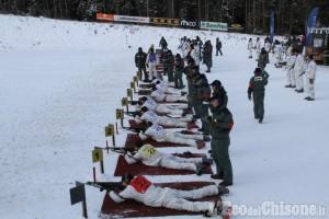 Alpini di Pinerolo: bronzo ai campionati Sciistici delle Truppe alpine