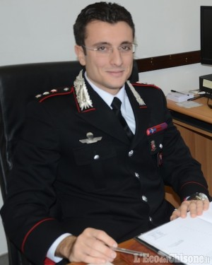 Alberto Tulli nuovo comandante dei Carabinieri