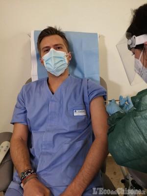 Orbassano: vaccino anti-Covid, partita la somministrazione anche al san Luigi