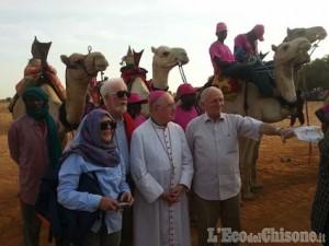 Il Vescovo di Pinerolo, Debernardi, in visita in Burkina Faso