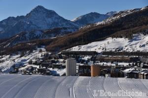 Vialattea: Nazionale di sci al Colle e impianti aperti dal 7 dicembre