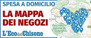 Spesa e farmaci a domicilio: la mappa aggiornata dei negozi nell'area di diffusione dell'Eco del Chisone