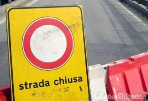 Castagnole: strada chiusa per cedimento