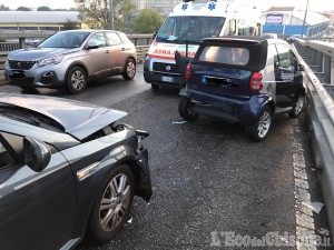 Nichelino: incidente tra due veicoli