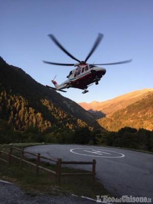 Crissolo: infarto in montagna, deceduto un escursionista