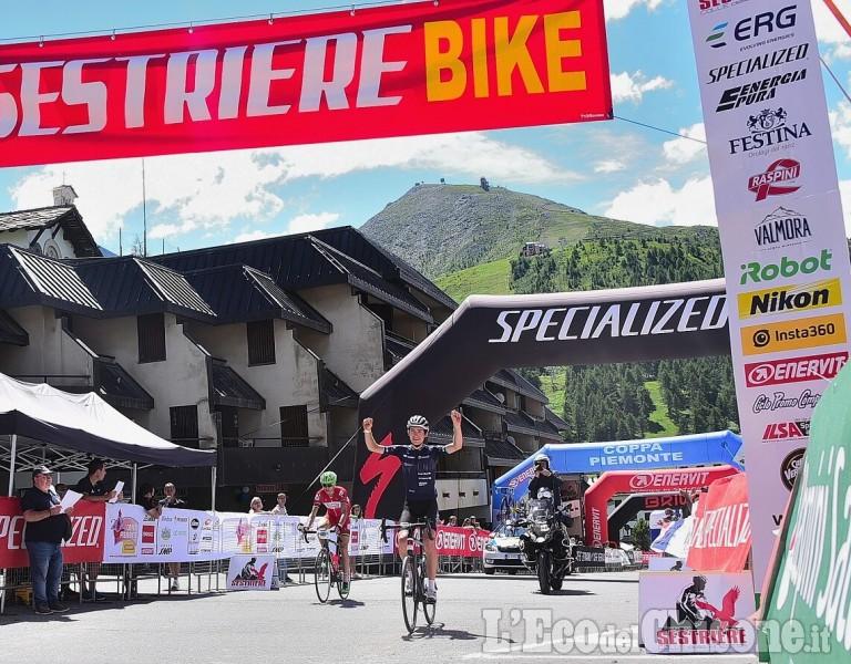 Ciclismo, grande festa per 1200 a Sestriere: granfondo col Finestre al lombardo Vergallito