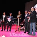 Pinerolo: Presentazione del Giro d'Italia con i grandi campioni del pedale